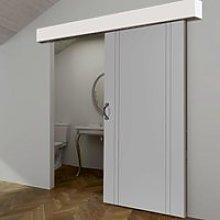 Thruslide White Pelmet Kit for Sliding Doors