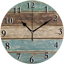 Thsinde - 10 inch retro wall clock Nordic fashion