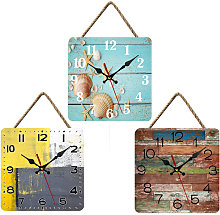 Thsinde - 10 Inch Wall Clock, Industrial Style
