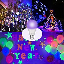 Thsinde - 10W E27 ultraviolet bulb, black light,