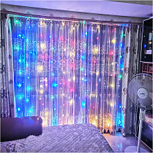 Thsinde - 3*2M200LED curtain light string with