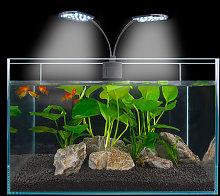 Thsinde - Ac220V 10W LED double head aquarium