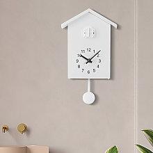 Thsinde - Birdhouse Mini White, Small Modern