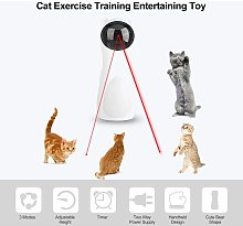 Thsinde - Cat Laser Toy Automatic Cat Laser Rotary