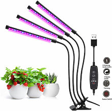 Thsinde - Growth lamp - With automatic timer - 40