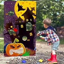Thsinde - Halloween Door Banner Outdoor Hanging