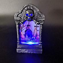 Thsinde - Halloween luminous lighting tombstone