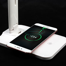 Thsinde - LED desk lamp with wireless charger, USB