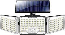 Thsinde - Outdoor solar light, 130 LED 1000LM