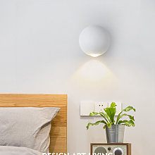 Thsinde - Outdoor Wall Sconce Powered Metal LED