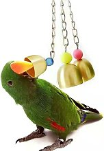 Thsinde - Parrot Bell Toy Three String Copper