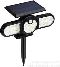 Thsinde - Solar wall light, human body induction,