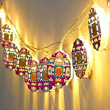 Thsinde - Star String Lights for Eid Decorations,