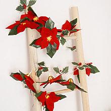 Thsinde - Thanksgiving Christmas Red Fruit Rattan