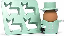 Thumbs Up Queen Egg Cup and Cutter Se