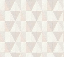 Tia 10.05m x 53cm Textured Matt Wallpaper Roll