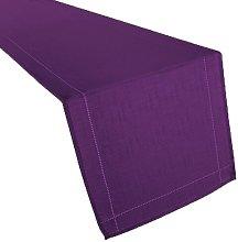 Tia Table Runner Marlow Home Co. Colour: Purple