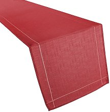 Tia Table Runner Marlow Home Co. Colour: Red
