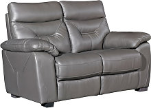 Tiana Contemporary Faux Leather Fixed 2 Seater