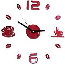 TIANCHE wall clock Cafe Diy Large Wall Clock