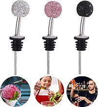 Tianfu 3 Pack Wine Pourers, Stainless Steel
