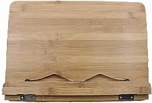 Tianfu Bamboo Book Stand   Wooden Book & Tablet