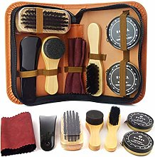 TIANTIAN 8Pcs Full Leather Shoe Polish Kit