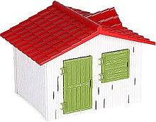 TIANTIAN Toy Barn House Miniature Farm House Model