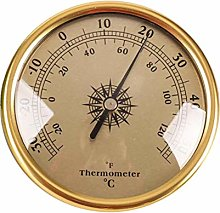 TIANTIAN Wall Hanging Weather Thermometer 72MM