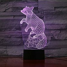 TIANXIAWUDI 3D LED Night Light/Touch 7 Colors Desk