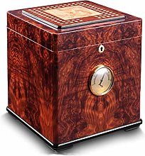 TIANYOU Cigar Moisturizing Box Cedar Wood Large