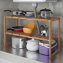 TIANYOU Kitchen Accessories 2 Tier Expandable