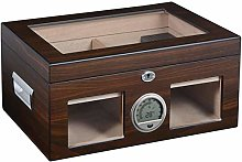 TIANYOU Large Capacity Humidor with Hygrometer and