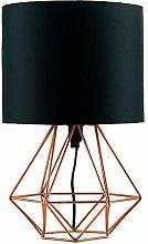 TIANYOU Modern Copper Metal Basket Cage Stytablamp