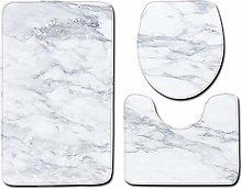 TIANYOU Modern Marble Bathroom Toilet Three-Piece
