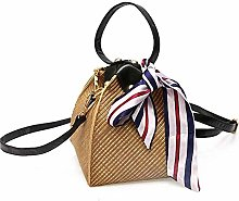 TIANYOU Ms Woven Straw Shopping Basket Gift Basket