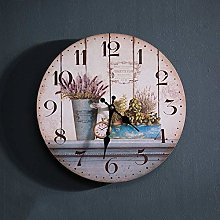 TIANYOU Nordic Wanduhr Wohnzimmer Home Pers