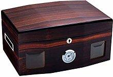 TIANYOU Red Cigar Humidor Cabinet Storage Box