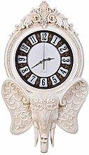 TIANYOU Vintage Wall Clock,European Home Creative