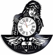 TIANZly Vinyl Decor for Living Room Bon Jovi Music