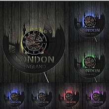 TIANZly VinylWall Clock Great Britain Tower of