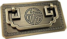 Tiazza Chinese Style Antique Brass Ring Pull
