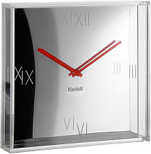 Tic & Tac Wall clock by Kartell Chromed