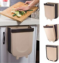 Tick Tocking Folding Trash Can for Kitchen Toilet