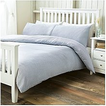 Ticking Stripe Basic Double Size Duvet Cover +