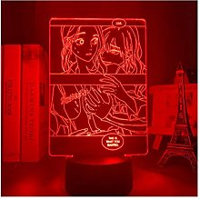 TIDRT Sadistic Beauty Led Desk Lamp Girl Bedroom