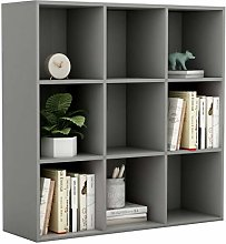 Tidyard Book Cabinet/Book Rack With 9 compartments