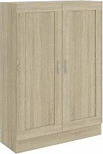Tidyard Book Cabinet Sonoma Oak 82.5x30.5x115 cm