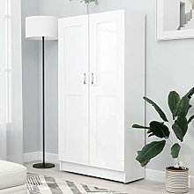 Tidyard Book Cabinet Tall Storage Cabinet
