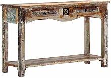 Tidyard Console Table Desk Retro Console Cabinet